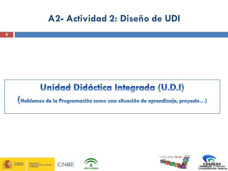 5 A2- Actividad 2: Diseño de UDI PROGRAMA PICBA