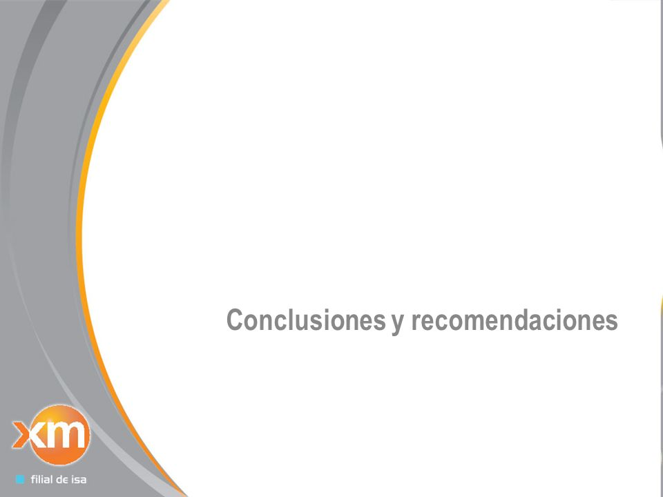 25 Conclusiones y recomendaciones