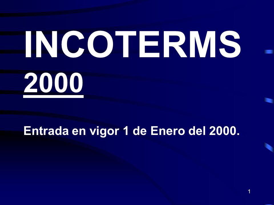 32 DAF TRANSFERENCIA DE LA RESPONSABILIDAD Riesgo y Responsabilidad del Comprador Efectuar el despacho de Importación Vendedor Comprador Frontera de Export.
