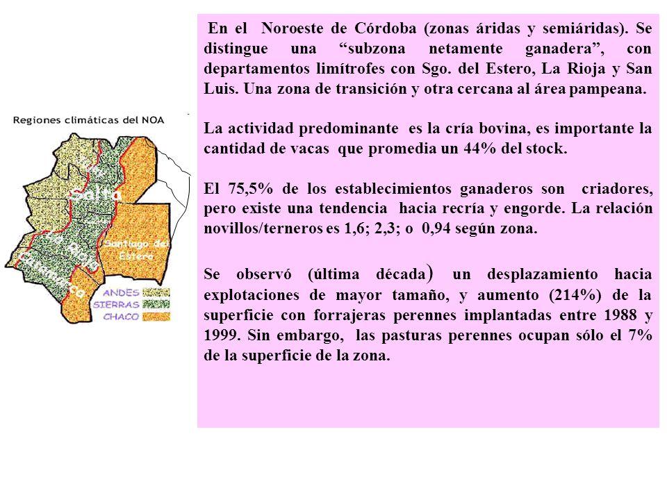 Otras provincias de la región El oeste de Chaco es semiárido-subhúmedo, hay un fuerte avance agrícola.