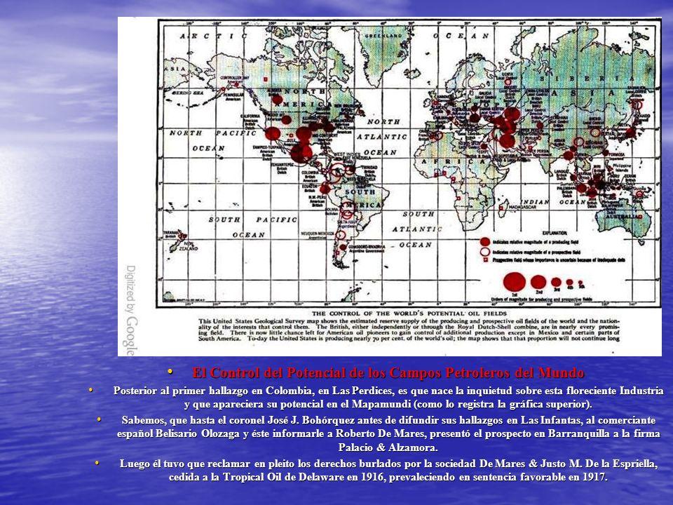 El Control del Potencial de los Campos Petroleros del Mundo El Control del Potencial de los Campos Petroleros del Mundo Posterior al primer hallazgo e