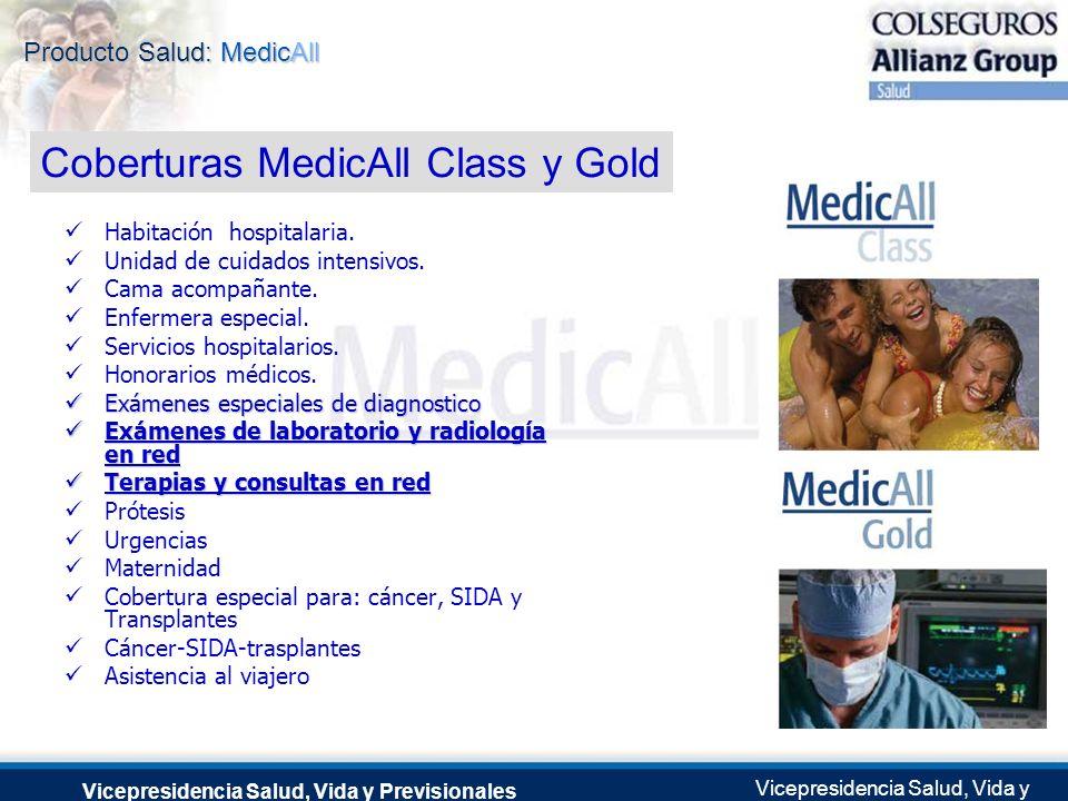 Producto Salud: MedicAll Vicepresidencia Salud, Vida y Previsionales Vicepresidencia Salud, Vida y Previsionales Julio 2.0041 de Septiembre de 2004 Ha