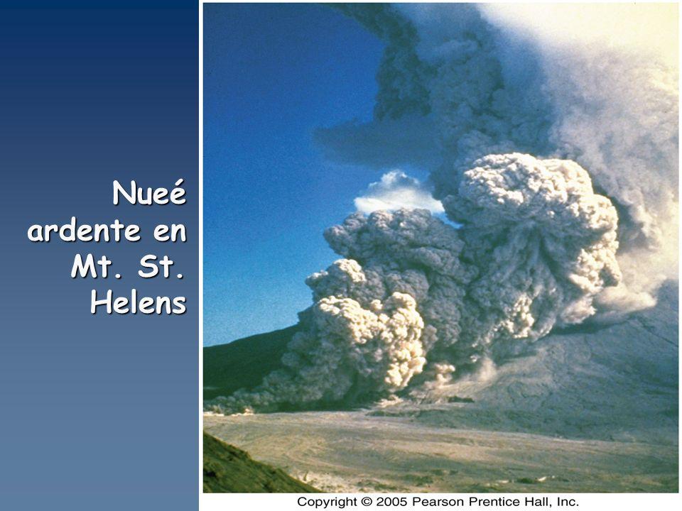 Nueé ardente en Mt. St. Helens