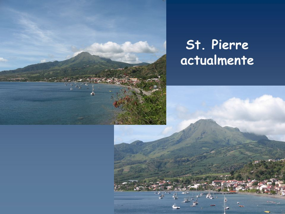 St. Pierre actualmente