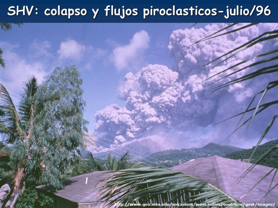SHV: colapso y flujos piroclasticos-julio/96 http://www.geo.mtu.edu/volcanoes/west.indies/soufriere/govt/images/