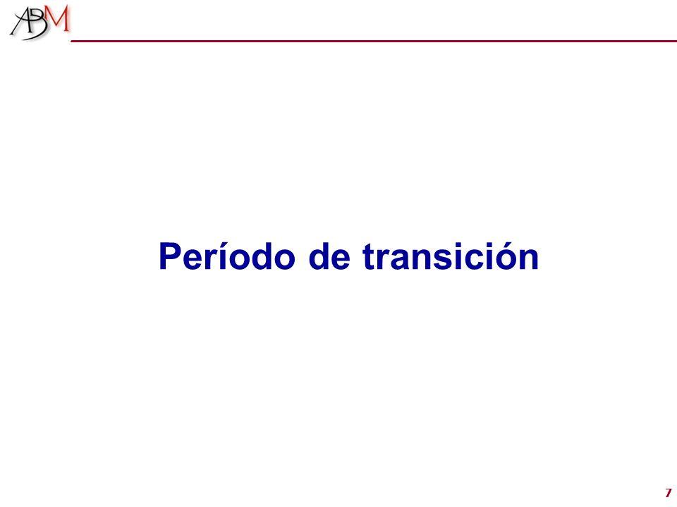 77 Período de transición