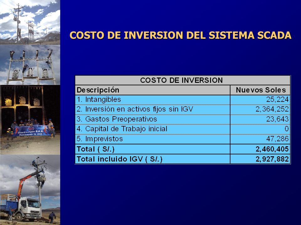 ANALISIS DE COSTOS INCREMENTALES