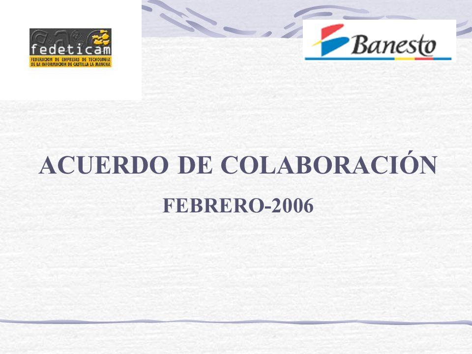 ACUERDO DE COLABORACIÓN FEBRERO-2006