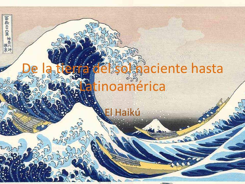 ¿Qué es el Haikú.¿A cuántos de ustedes les gusta la cultura japonesa.