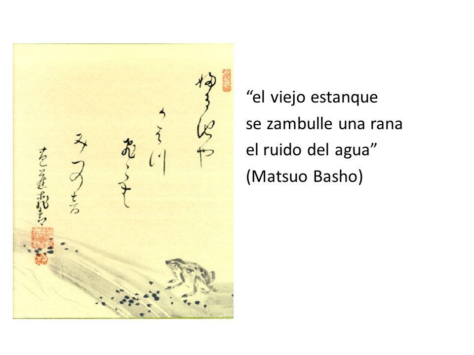 relampaguea después en las tinieblas grazna una garza (Matsuo Basho)