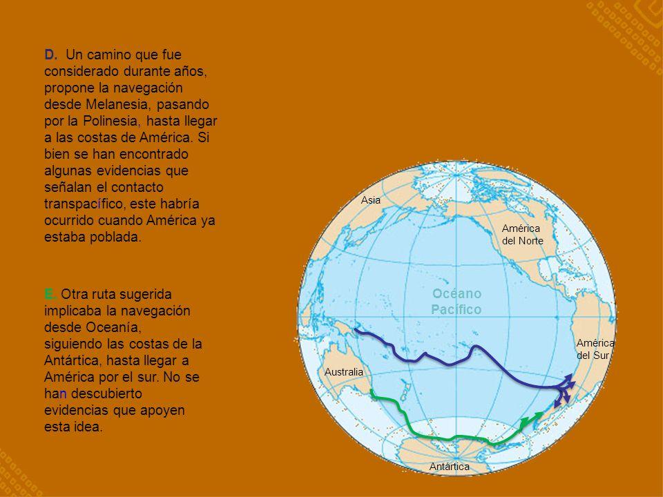 Océano Pacífico Asia D.