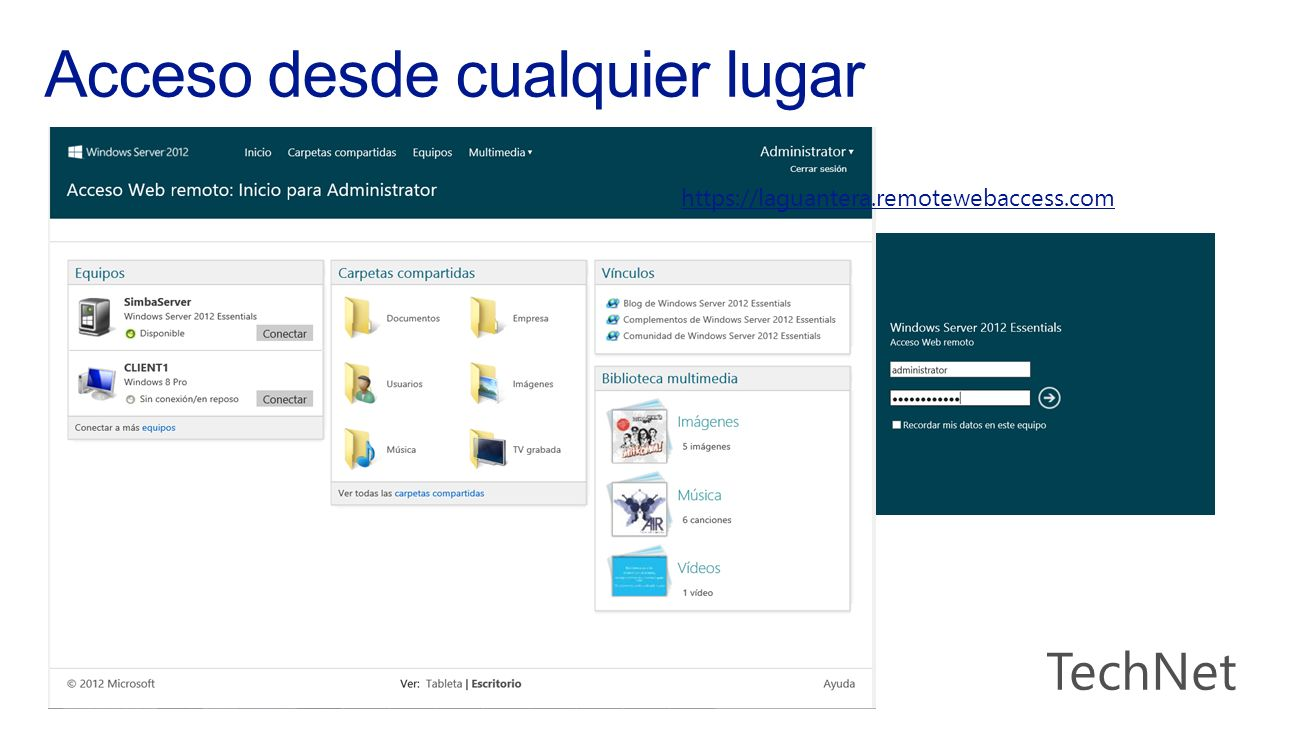 https://laguantera.remotewebaccess.com
