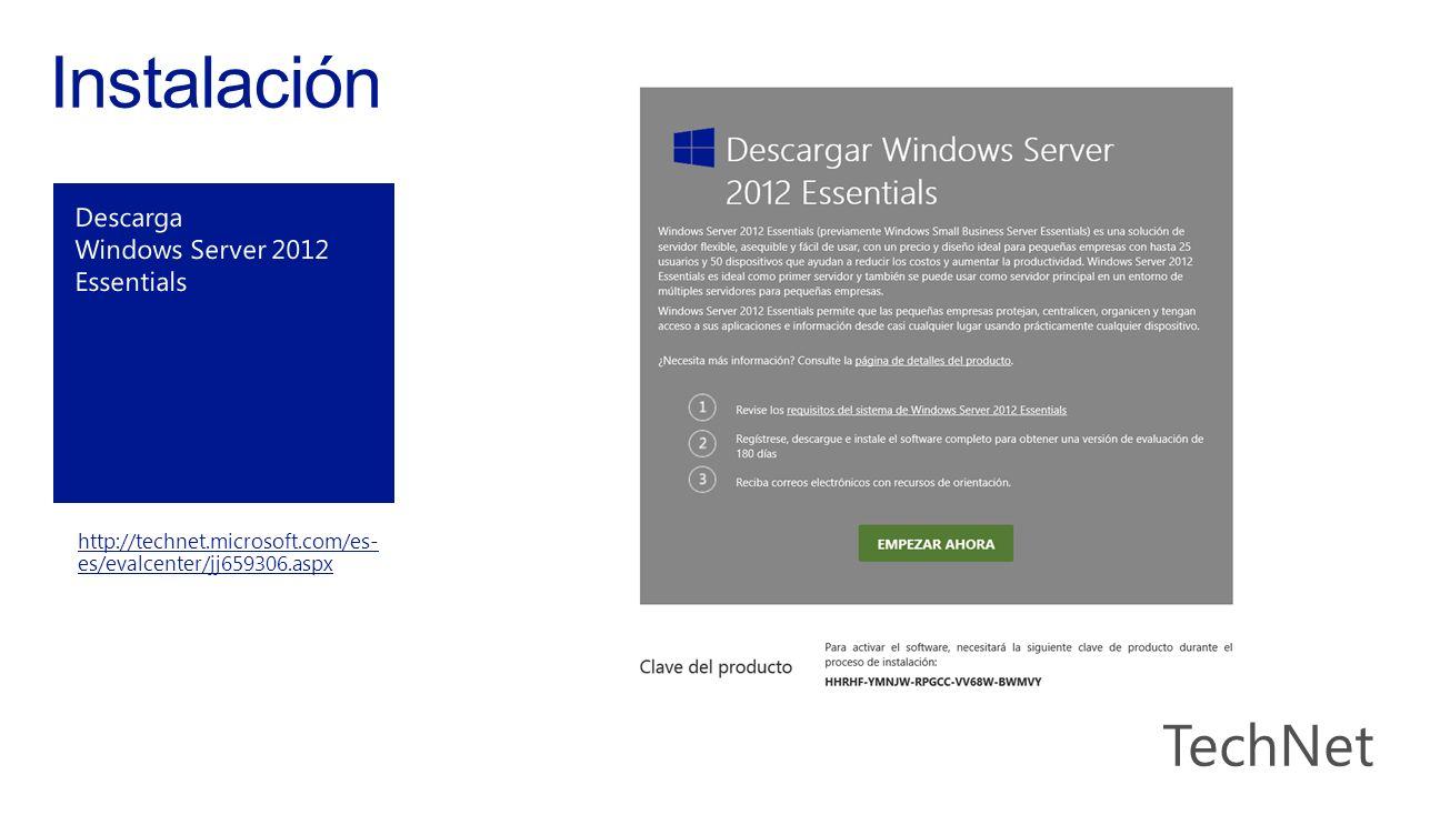 http://technet.microsoft.com/es- es/evalcenter/jj659306.aspx