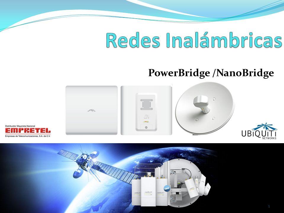 Acerca de UBIQUITI NETWORKS Ubiquiti Networks es una compañía fundada en el 2005 con la misión de habilitar redes inalámbricas de banda ancha.