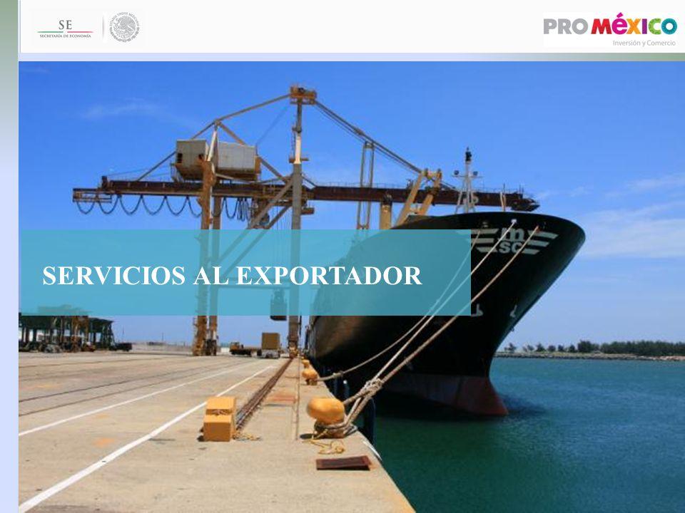 SERVICIOS AL EXPORTADOR