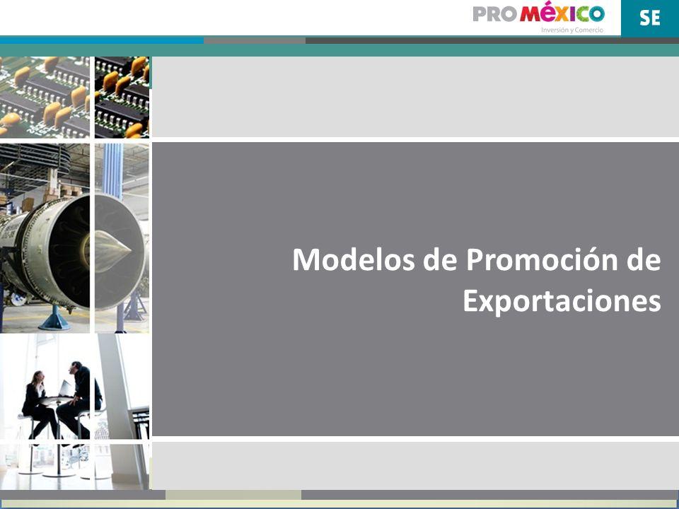 Modelos de Promoción Los modelos de promoción comercial se entrelazan con los de atracción de IED 2.