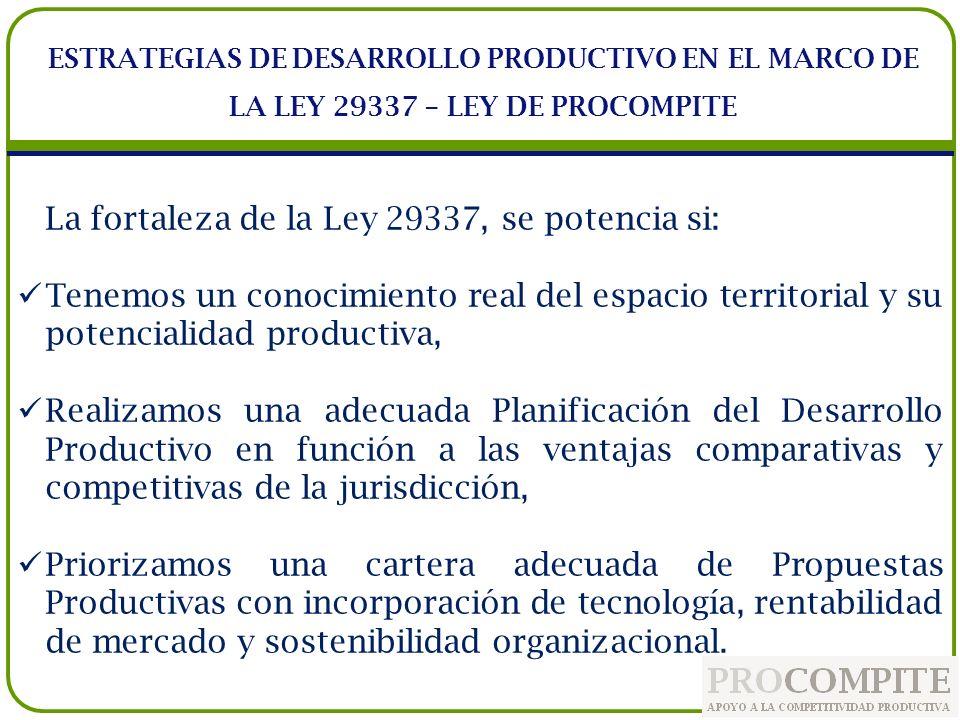 No pierda la oportunidad de promover el desarrollo productivo en su jurisdicción.