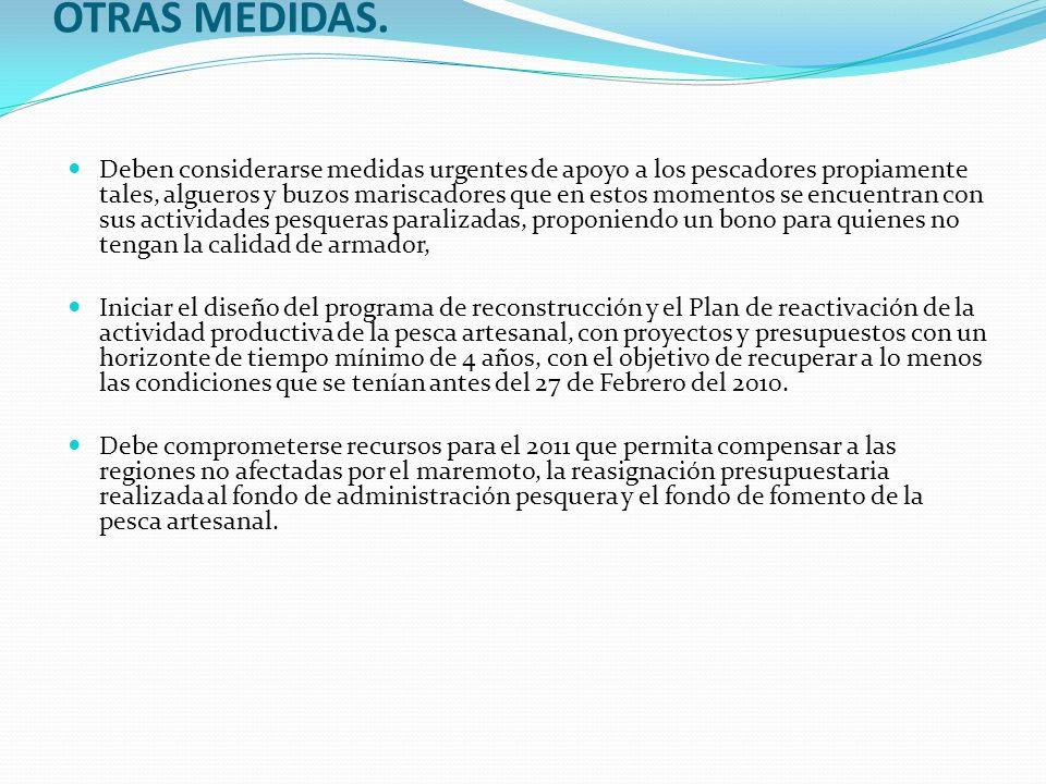 OTRAS MEDIDAS.