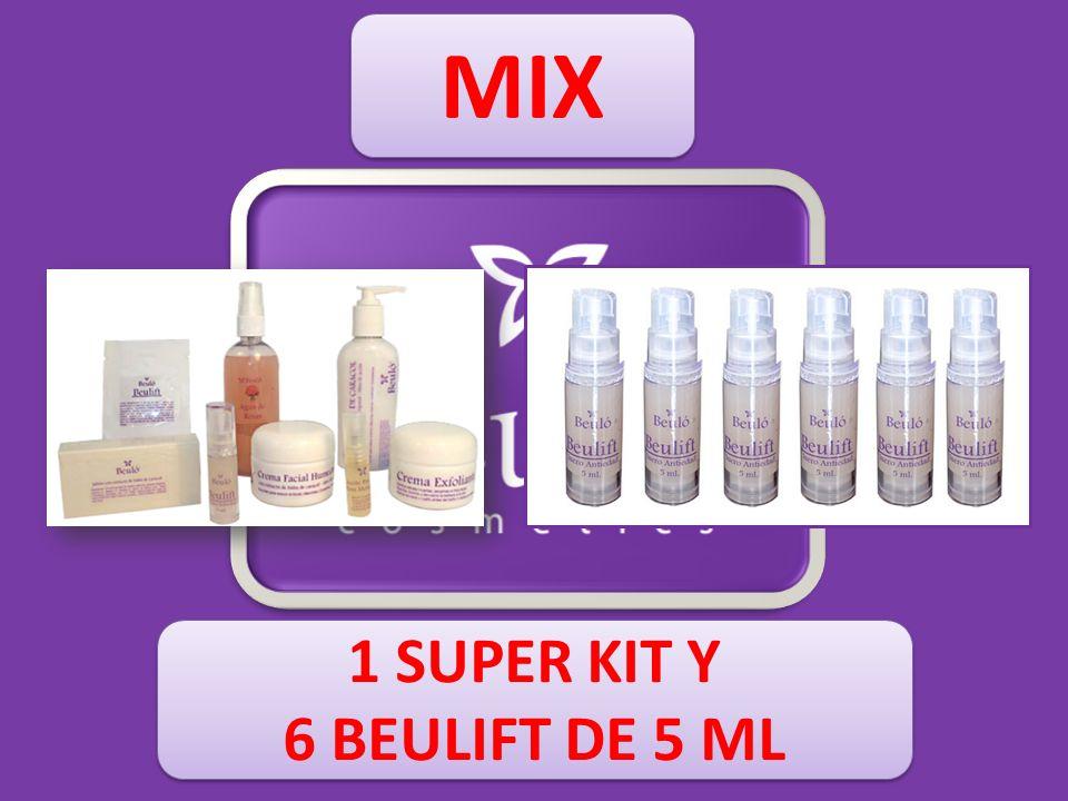 MIX 1 SUPER KIT Y 6 BEULIFT DE 5 ML 1 SUPER KIT Y 6 BEULIFT DE 5 ML