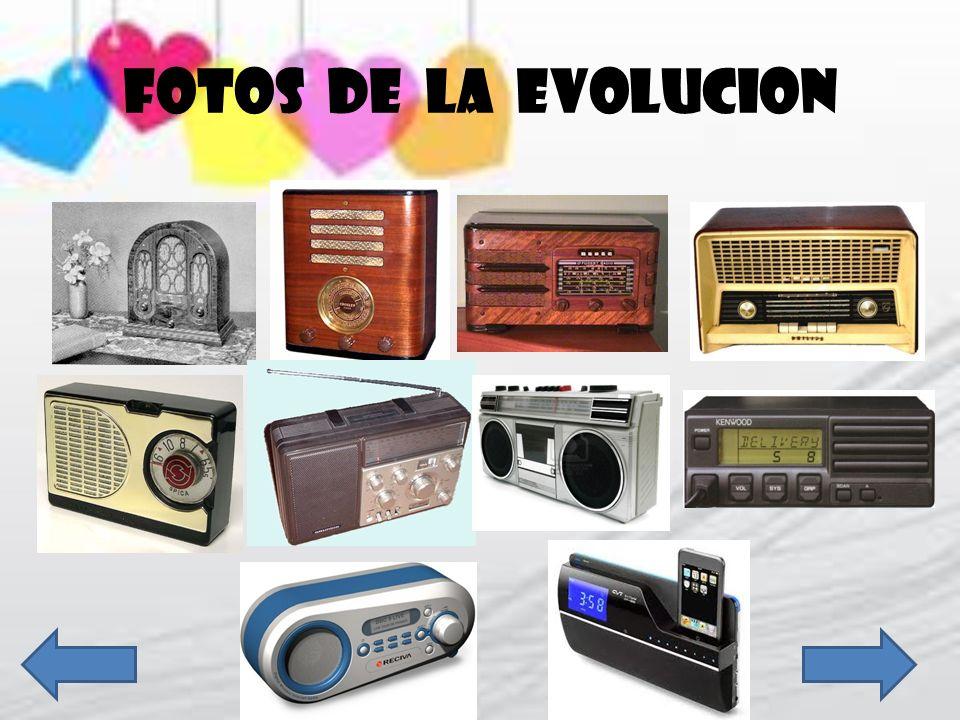 FOTOS DE LA EVOLUCION
