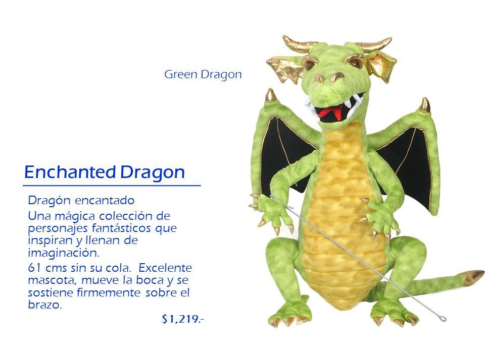Enchanted Dragon Dragón encantado Una mágica colección de personajes fantásticos que inspiran y llenan de imaginación. 61 cms sin su cola. Excelente m