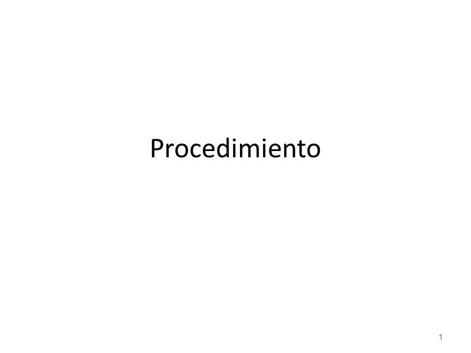 Procedimiento 1