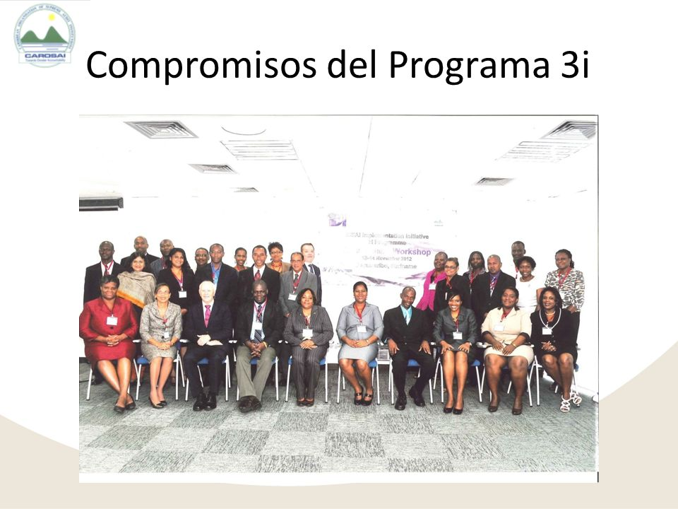 Compromisos del Programa 3i