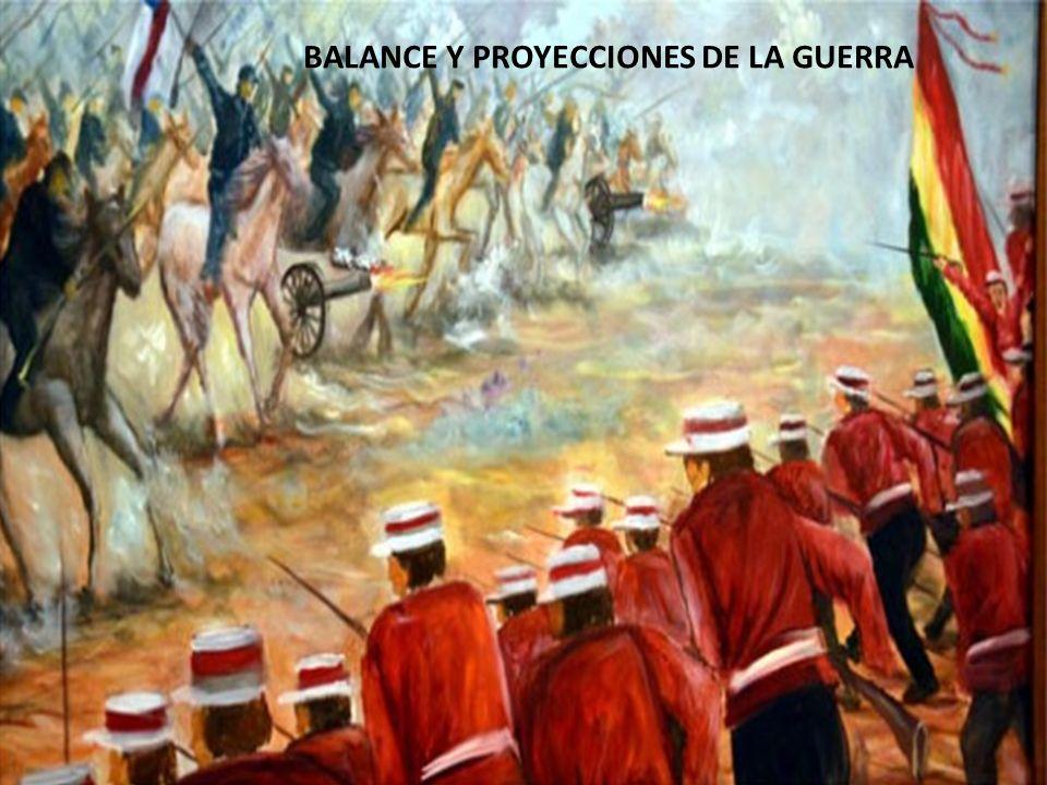 Consecuencias: Tratados del fin de la guerra: -Término de la guerra 1883- 1884 -Las negociaciones y acuerdos territoriales no fueron resueltos en el S.XIX Tratado de Ancón 1883, se firma entre Chile y Perú en Lima, estableció que: La provincia de Tarapacá pasaría en forma perpetua a manos de Chile.