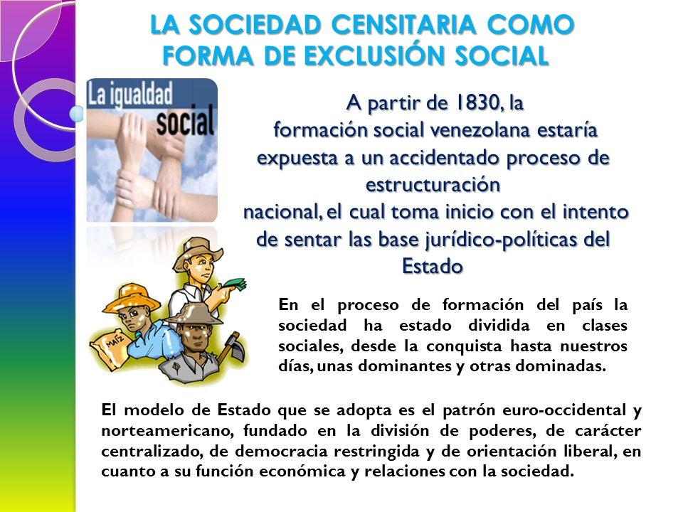 LA VENEZUELA REPÚBLICANA SE INICIA A PARTIR DEL AÑO 1830. Con la instalación de la Constituyente de 1830, en la ciudad de Valencia, se ratifica, en té
