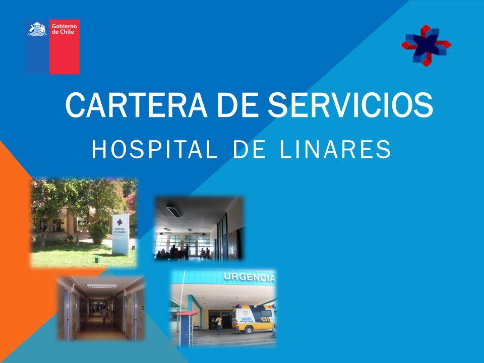 CARTERA DE SERVICIOS HOSPITAL DE LINARES