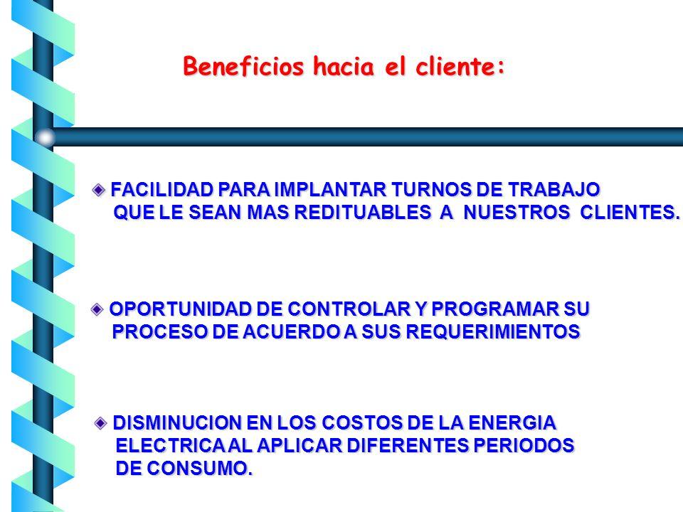 Bases fundamentales para la creación de las Tarifas Horarias: COMPENSAR LOS NIVELES DE TENSION COMPENSAR LAS DIFERENCIAS REGIONALES, COMPENSAR LAS DIF