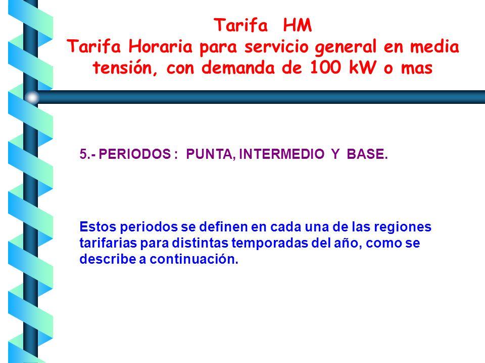 4.- HORARIO Para los efectos de la aplicación de esta tarifa, se utilizarán los horarios locales oficialmente establecidos. Por días festivos se enten