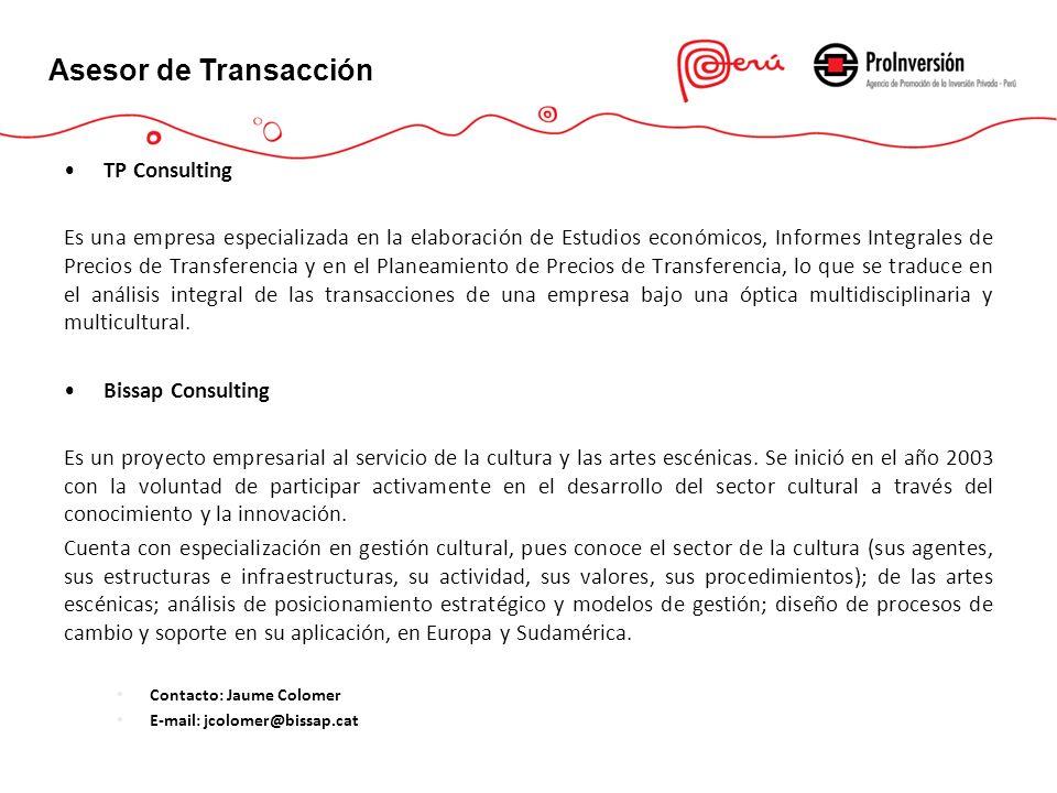 TP Consulting Es una empresa especializada en la elaboración de Estudios económicos, Informes Integrales de Precios de Transferencia y en el Planeamie