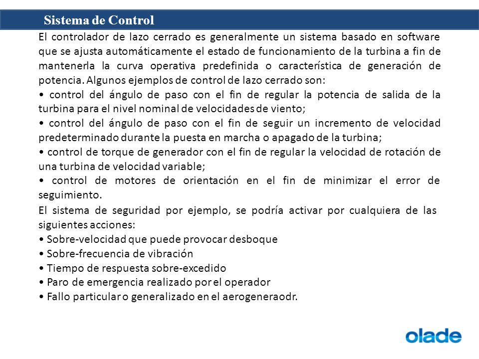 Sistema de Control El controlador de lazo cerrado es generalmente un sistema basado en software que se ajusta automáticamente el estado de funcionamie