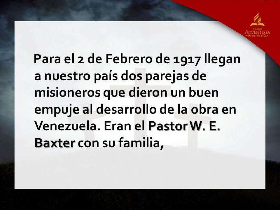 Pastor W.E.