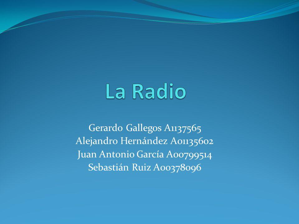 Gerardo Gallegos A1137565 Alejandro Hernández A01135602 Juan Antonio García A00799514 Sebastián Ruiz A00378096