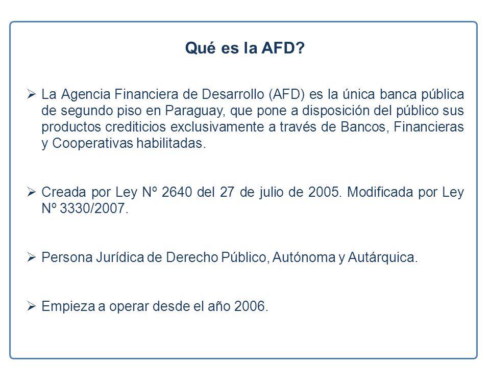 Qué es la AFD.