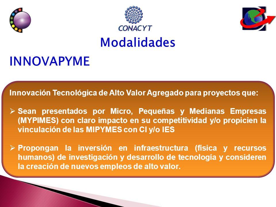 Desarrollo e Innovación en Tecnologías Precursoras para proyectos de IDTI que: Sean presentados por MIPYMES o empresas grandes; las propuestas deberán ser presentadas en red, integrando al menos una empresa y un CI o una IES.