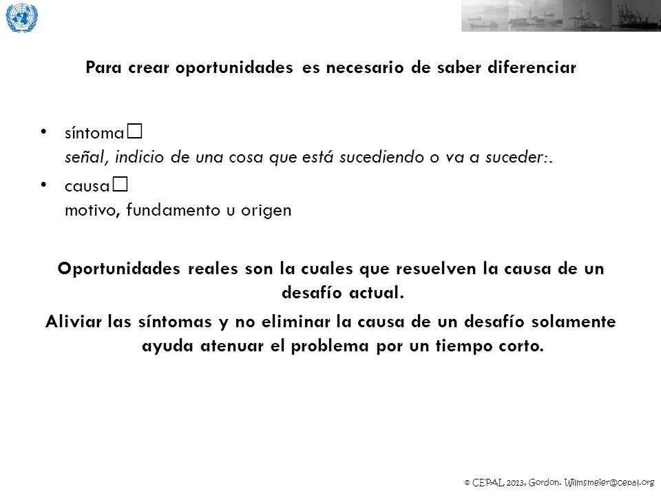 © CEPAL 2013, Gordon. Wilmsmeier@cepal.org BOLIVIA