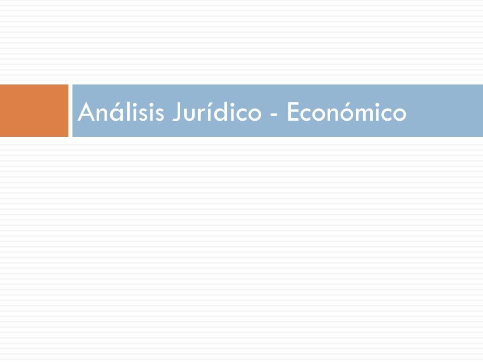 Análisis Jurídico - Económico