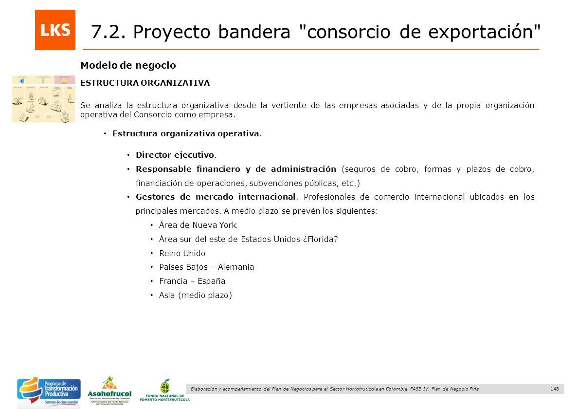 148 Elaboración y acompañamiento del Plan de Negocios para el Sector Hortofrutícola en Colombia. FASE IV. Plan de Negocio Piña Modelo de negocio ESTRU
