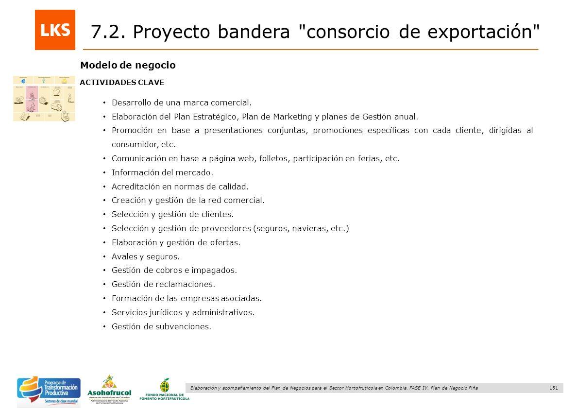 151 Elaboración y acompañamiento del Plan de Negocios para el Sector Hortofrutícola en Colombia. FASE IV. Plan de Negocio Piña Modelo de negocio ACTIV
