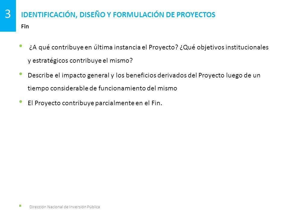 ¿A qué contribuye en última instancia el Proyecto? ¿Qué objetivos institucionales y estratégicos contribuye el mismo? Describe el impacto general y lo