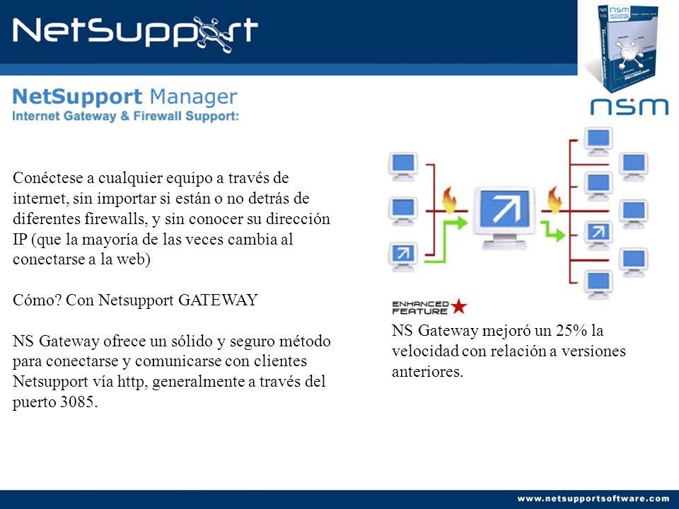 Obtenga un inventario del hardware y software instalado en el equipo remoto con un solo click.
