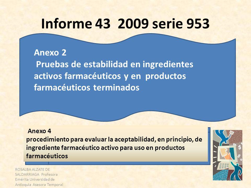 ROSALBA ALZATE DE SALDARRIAGA Profesora Emérita Universidad de Antioquia Asesora Temporal OPS 27 de 56 Informe 43 2009 serie 953 Anexo 2 Pruebas de es