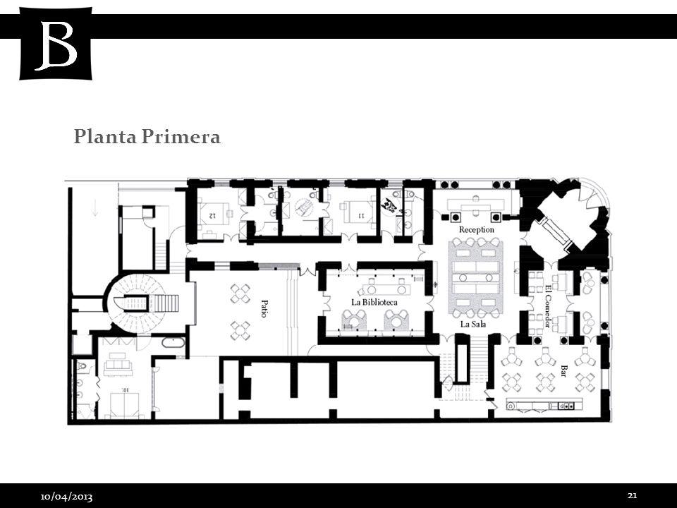 10/04/2013 21 Planta Primera