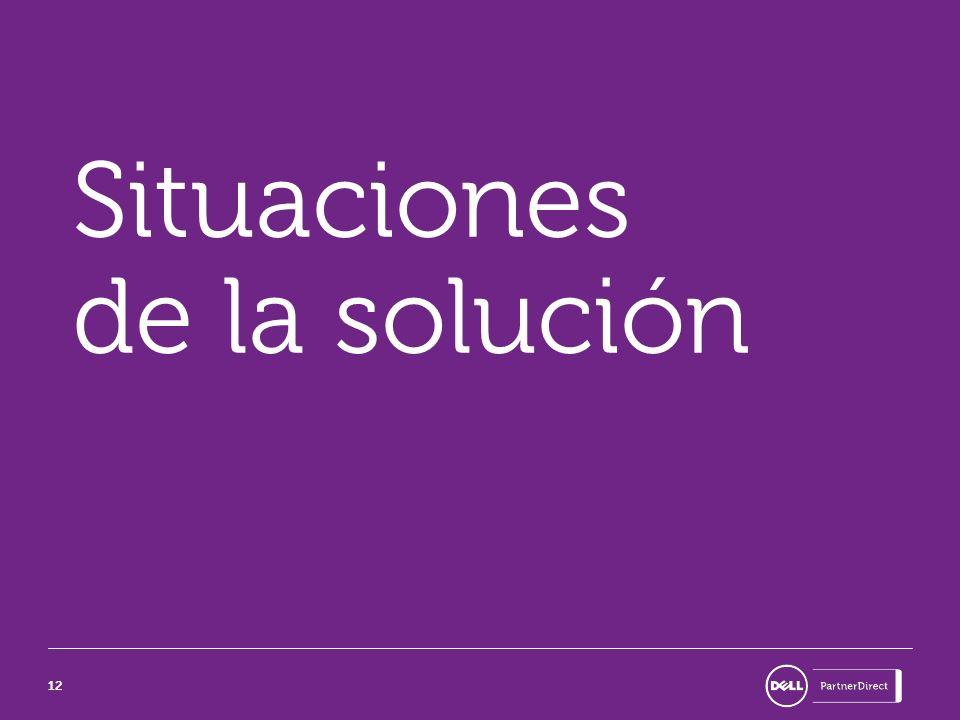 12 Situaciones de la solución