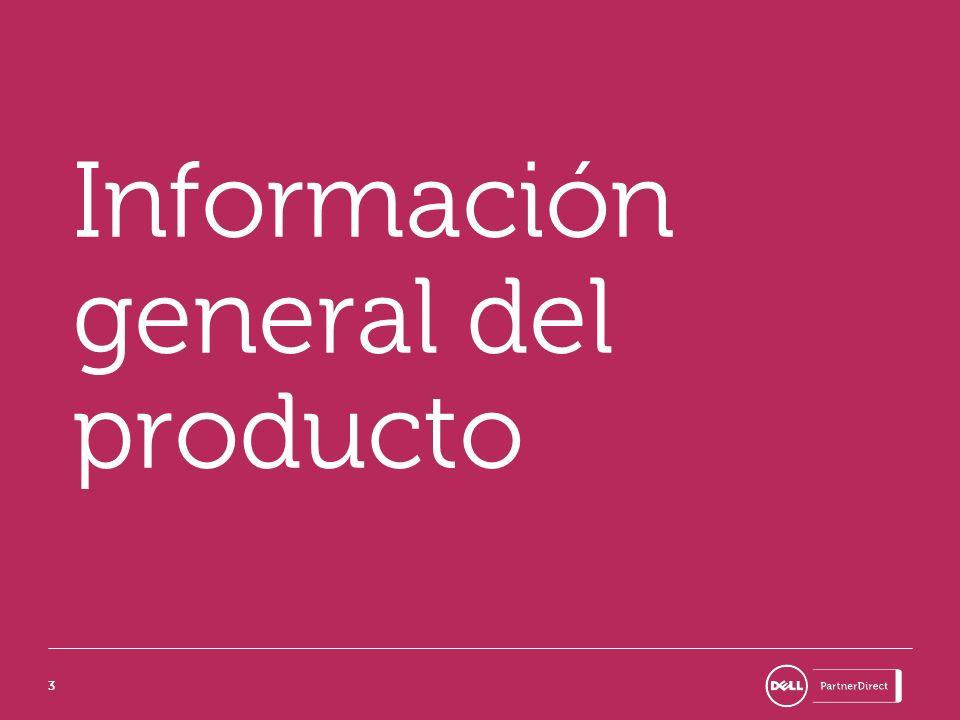 33 Información general del producto