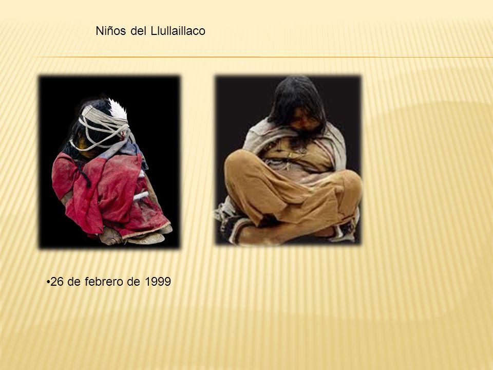 Niños del Llullaillaco 26 de febrero de 1999