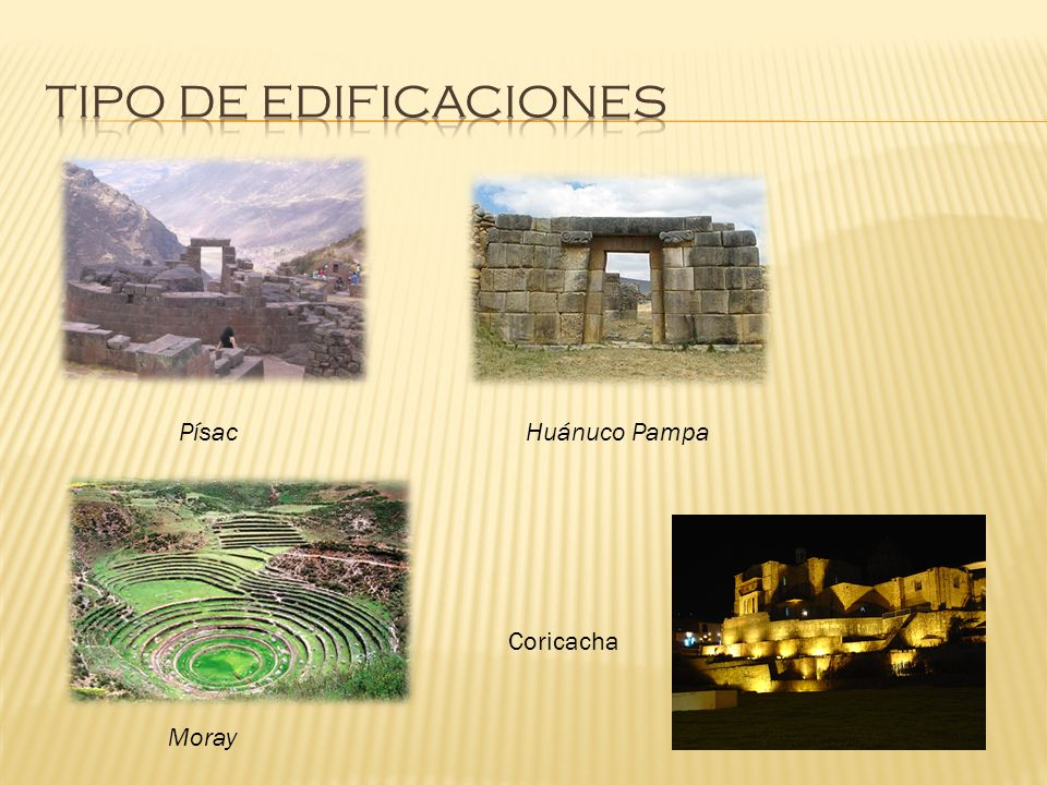 PísacHuánuco Pampa Coricacha Moray